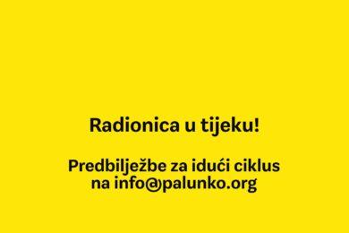 Prijave za scenarističku radionicu Palunko