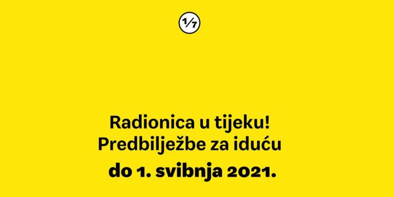 Predbilježbe za scenarističku radionicu Palunko