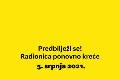 Scenaristička radionica Palunko Predbilježbe